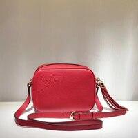 Luxury Classic copy Genuine Leather famous brand purse women handbag soho disco mini crossbody bags top quality shoulder bag box