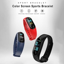 Купить с кэшбэком M3 Watch Fitness Tracker Sport Writsband Heart Rate Monitor Smart Watch Waterproof Blood Pressure Smart Bracelet For IOS Android