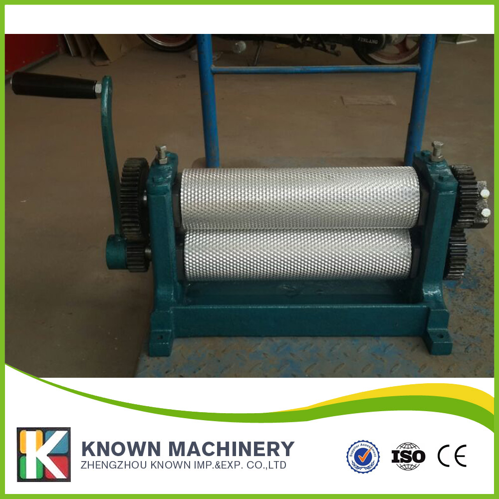 Cell size 5.4mm Aluminum Alloy Bees Wax Foundation Mill 86*310mm 86 250mm competitive price bees wax foundation machine