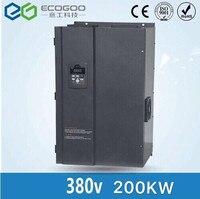 3 фазы 380 В 200KW преобразователь частоты/AC/двигатель переменного тока привод
