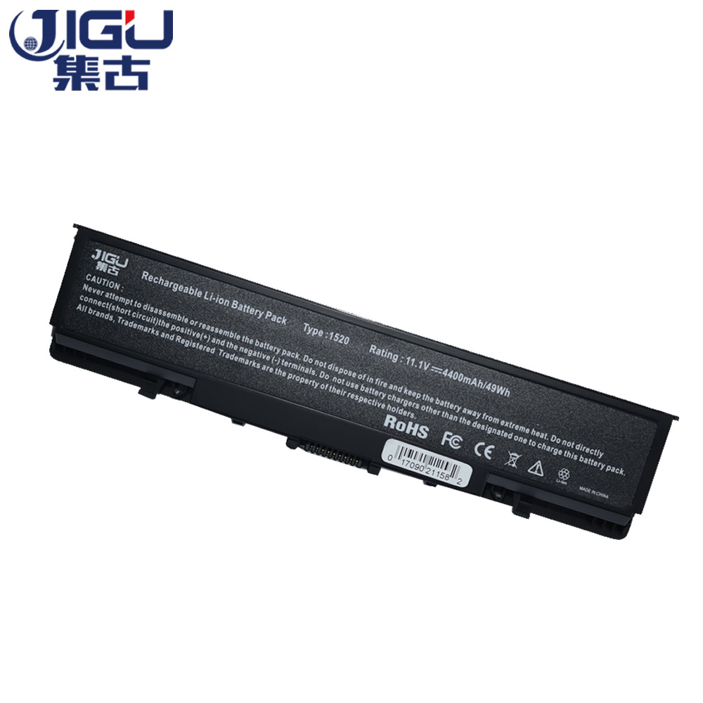 JIGU Laptop <font><b>Battery</b></font> For <font><b>Dell</b></font> Vostro 1500 1700 <font><b>Inspiron</b></font> 1520 1521 <font><b>1720</b></font> 1721 GK479 GR995 KG479 NR222 NR239 TM980 FK890 312-0520 image