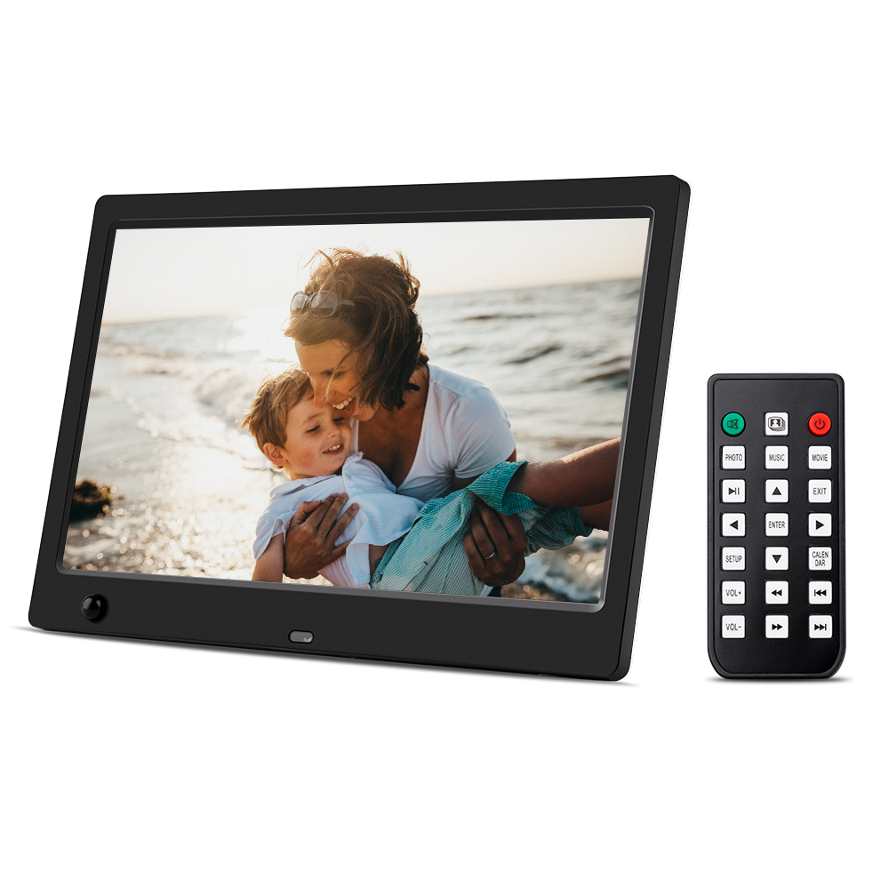 Digital Picture Frame 10 1 inch Electronic Digital Photo Frame IPS 16 9 Display with HU