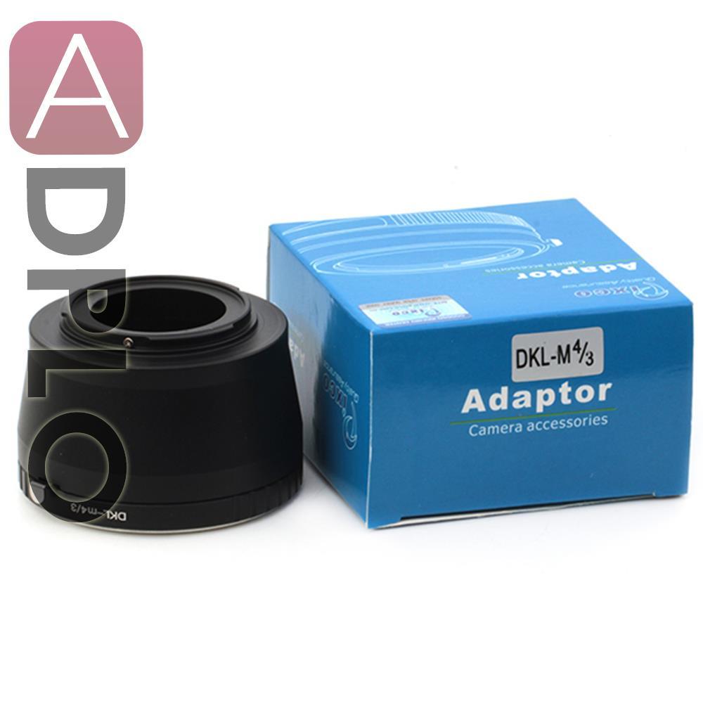 Lens Adapter Ring Suit For Viogtlander Retina Reflex DKL Lens to Micro 4/3 M4/3 GF3 GH3 E-PL5 E-P3 Pen E-PL6 E-P5 E-PL5 Camera