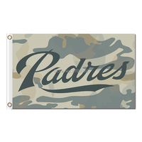 Camouflage San Diego Padres Flag World Series Champions Baseball Cub Fans Team Flags Banner 3x5ft Banners
