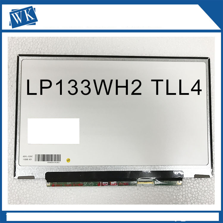 13.3 inch for ACER 3810T TM8371G 3820ZG laptop lcd screen B133XW01 V.2 B133XW01 V.3 LP133WH2 TLA4 N133BGE-LB1 LT133EE09300 13 3 laptop replacement screen lp133wh2 tl m5 lcd display panel monitor lp133wh2 tlm5 04w1768 lvds 1366x768 free shipping