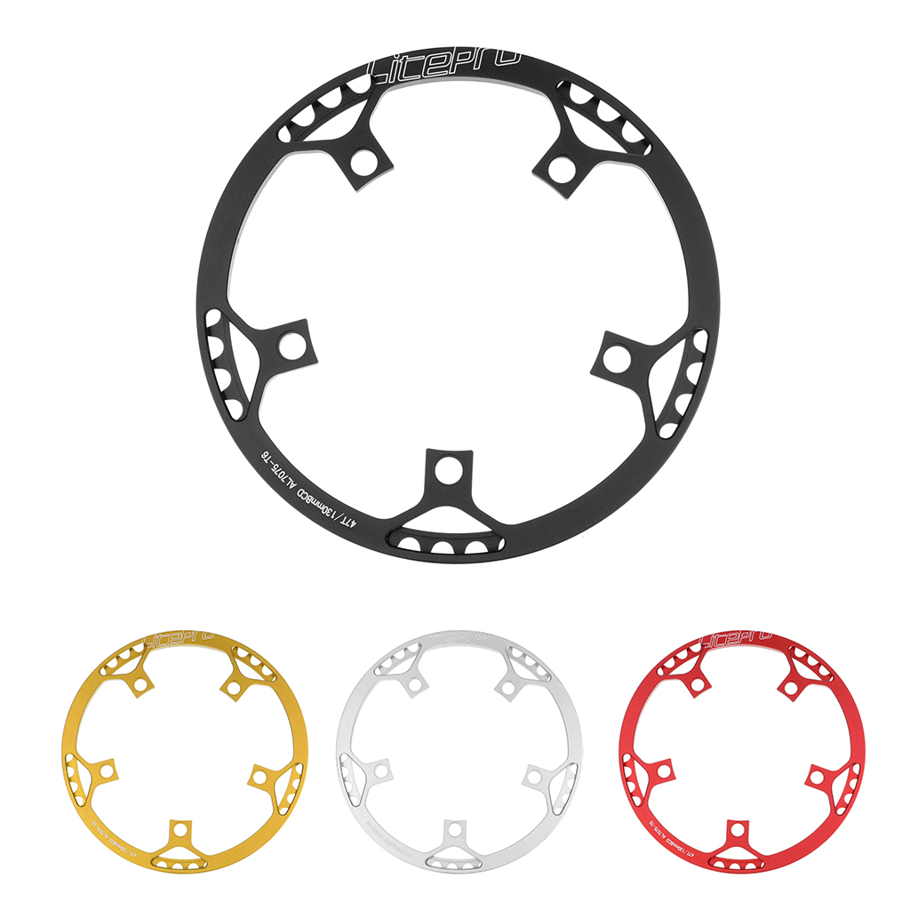 perfk Bike Bicycle Chainwheel Plate Cycle Chain Cover Crankset Protector Guards