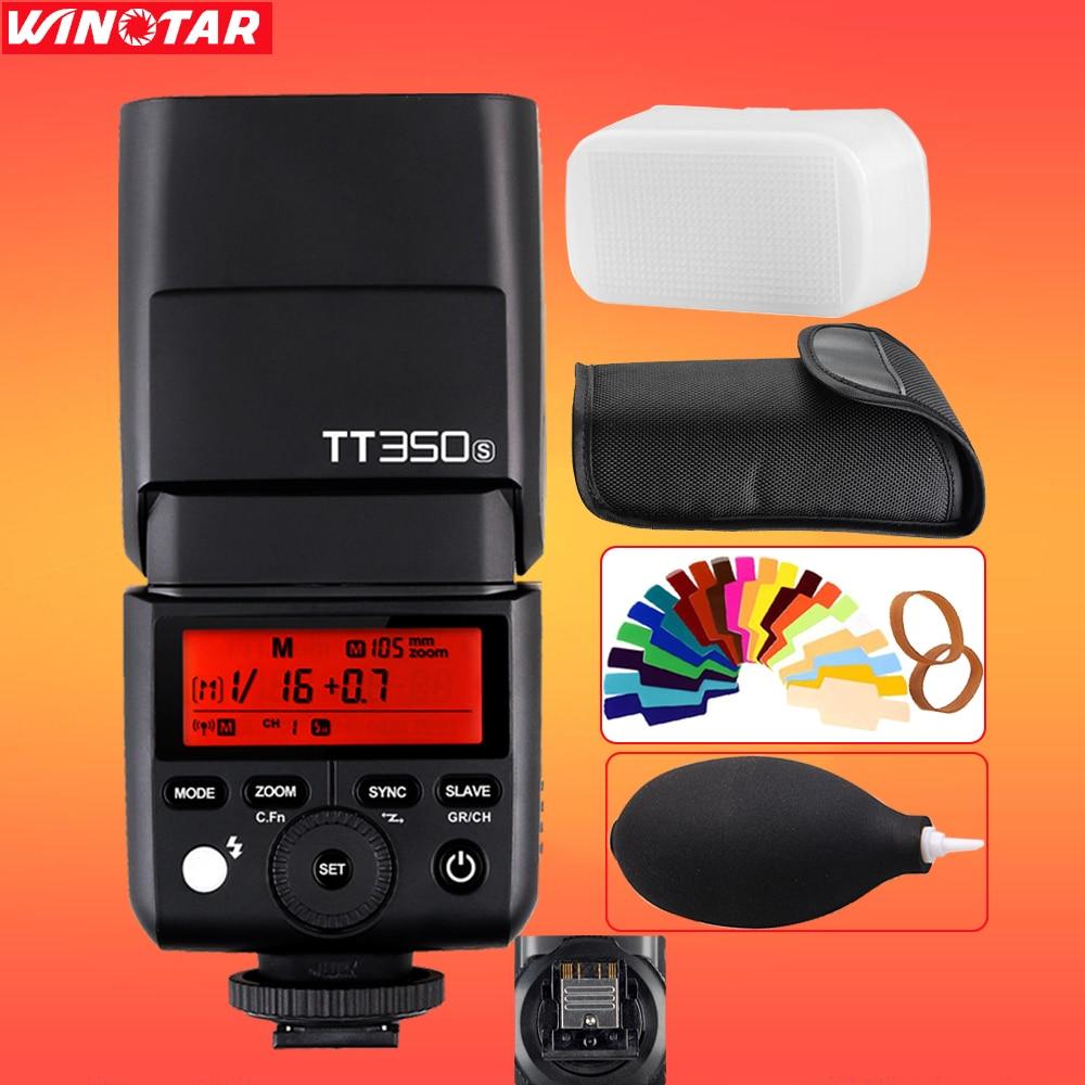 Godox Mini TT350 TT350S 2.4G TTL 1/8000s Camera flash for Sony Mirrorless DSLR Camera a77II a7R A6000 A6500 A99 A58 ILCE6000L sony ilce 6000 a6000y a6000 24 3 mp digital camera body