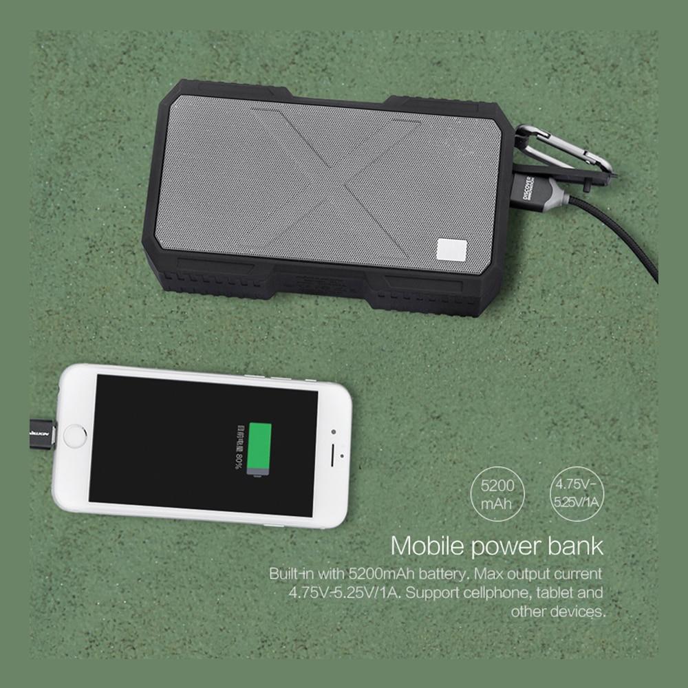 Nillkin Altavoz Bluetooth Inalámbrico Banco de Potencia Caja de - Audio y video portátil - foto 4
