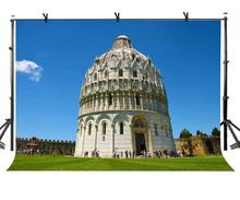 7x5ft Pisa Church Backdrop Dome Religious Architecture Photography Background and Studio Props