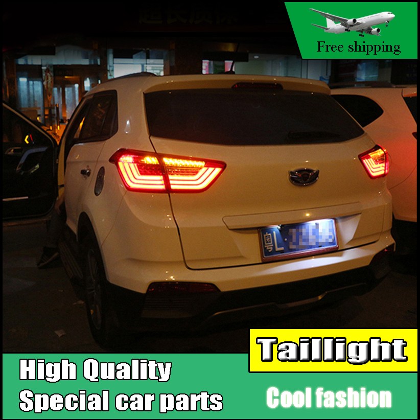 Car Styling For Hyundai Creta 2014-2017 IX25 taillights Full LED Tail Lamp rear trunk Light moving turn signal+DRL+brake+reverse велосипед scott aspect 920 2015