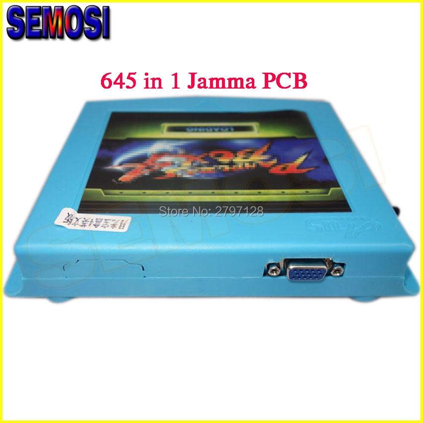 Game Board 4 VGA CGA 645 in 1 999 in 1 Game Board Arcade Bundle Video