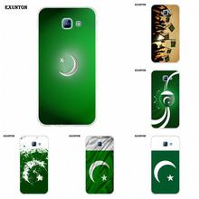Soft Capa Cover Case Pakistan National Flag For Galaxy A3 A5 A7 A8 A9 A9S On5 On7 Plus Pro Star 2015 2016 2017 2018