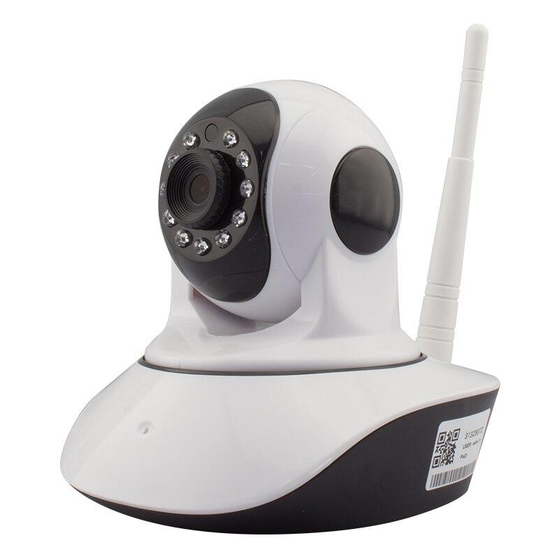720 P Мини Инфракрасный Камера IP Wi-Fi PTZ P2P Беспроводной HD 1.0mp IRCUT CMOS видеонаблюдения в помещении сети видео HD.264 ...