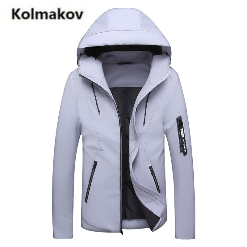KOLMAKOV 2017 winter new arrival high quality fashion Men's cotton-padded jacket coats,casual hooded Thick warm coat men,M-4XL. 2016 new arrival men s winter jacket casual slim fit fashion solid hooded man jacket winter warm high quality m 4xl