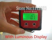 4x90 Degree Digital Inclinometer Precision Bevel Box Angle Finder Digital Protractor Spirit Level With Magnet Base недорого