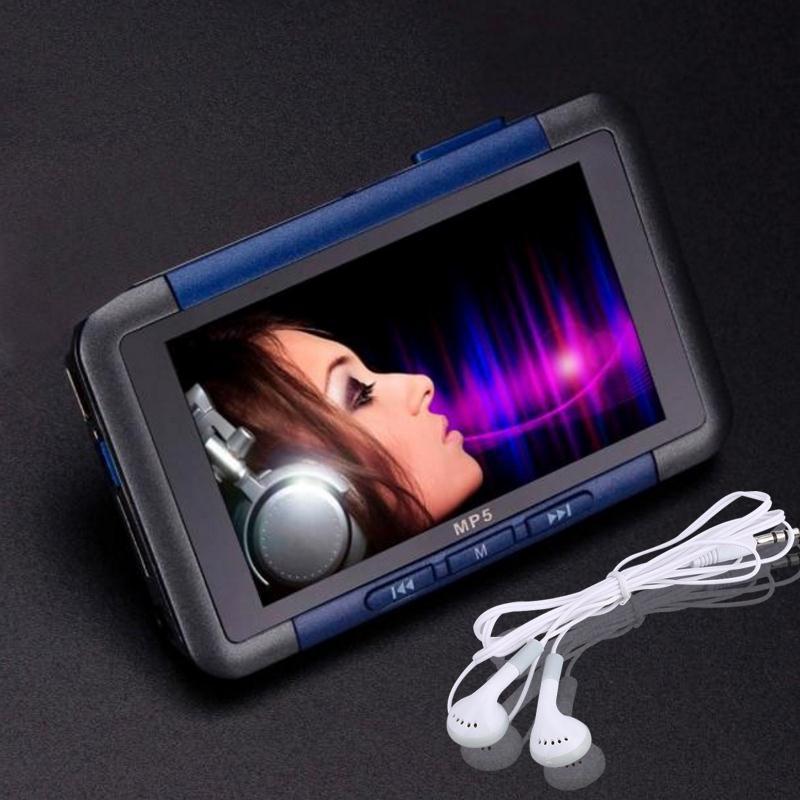Mince 3 Pouce LCD 8G Mémoire FM Radio Vidéo Enregistreur Médias MP3 MP4 Lecteur