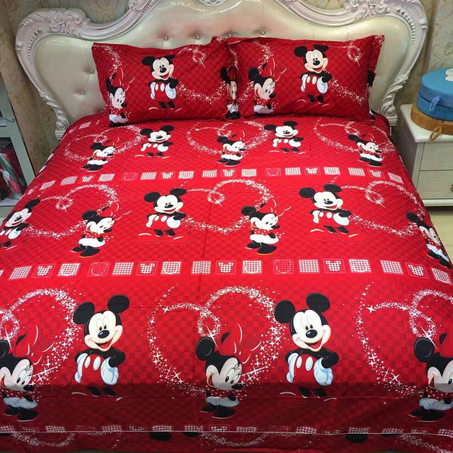 100% Cotton Mickey Mouse Bedding Set