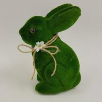 1 stück Green Bunny Ostern Kunststoff Kaninchen Nette Frühling Dekoration