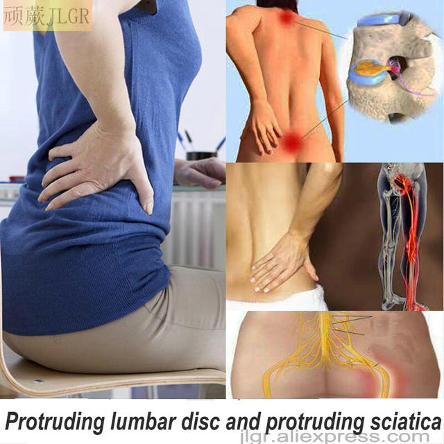 Against lower back pain, sciatica, black plaster, and muscle pain