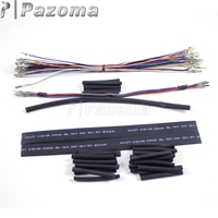 Motorcycle 12 Handlebar Wiring Extension Harness For Harley Electra Glide Road King Road Glide Touring models 2007 2013