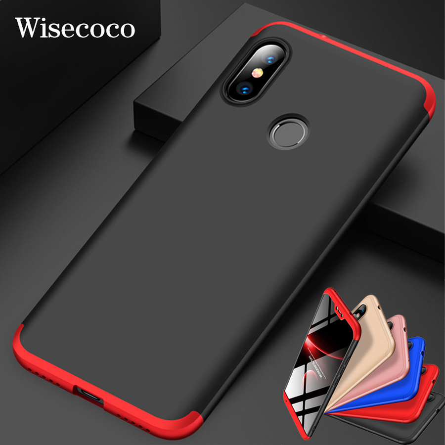 360 Degree Hard Case for Xiaomi Mi 9 8 Se 6 Mix Max 2 3 2s A2 Lite A1 6x 5x Redmi Y2 6a Note 5 6 7 Pro Plus 5a Prime Back Cover mobile phone