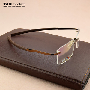 Image 2 - : กรอบแว่นตาผู้ชาย 2019 แว่นตากรอบแว่นตาผู้ชายแว่นตาคอมพิวเตอร์สายตาสั้นแว่นตาแฟชั่นกรอบแว่นตาผู้ชาย 0342