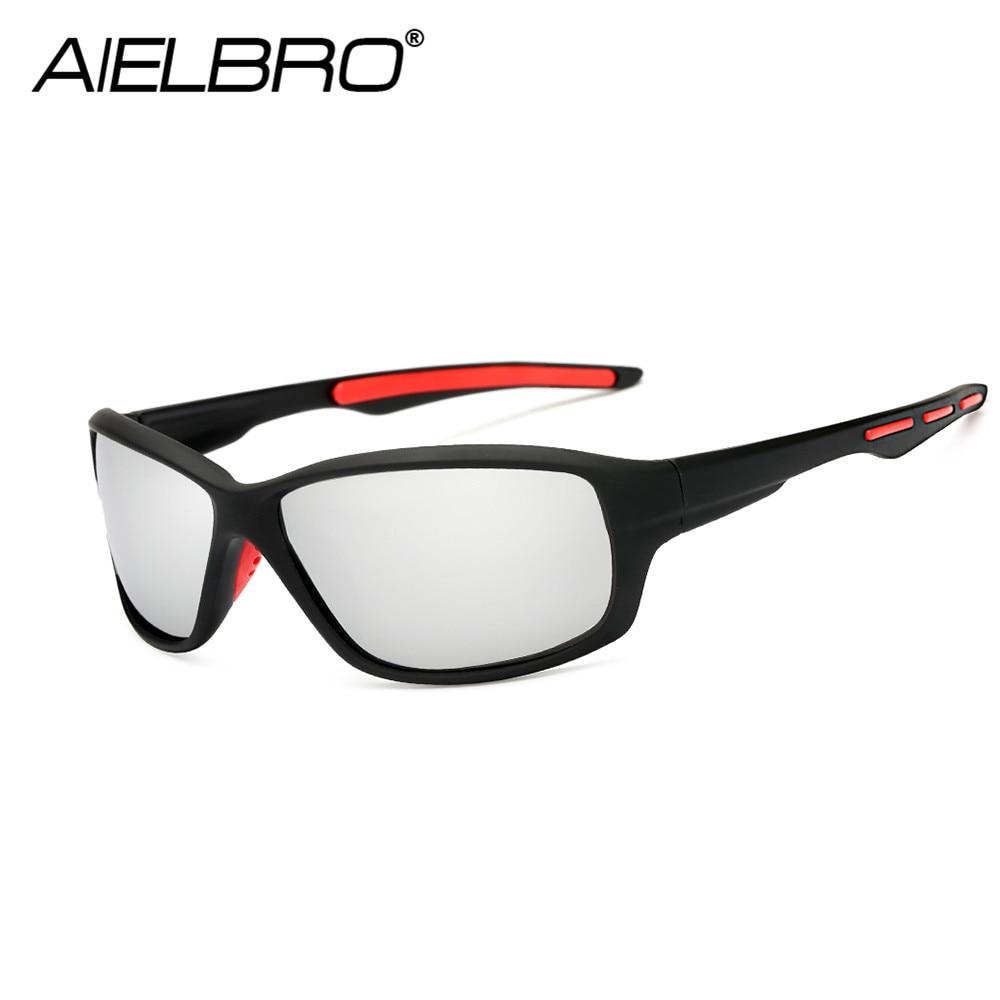 AIELBRO Professional Military Men Polarized Sunglasses Driving Glasses Man Classic Outdoor Sport Hiking Eyewear Gafas Ciclismo