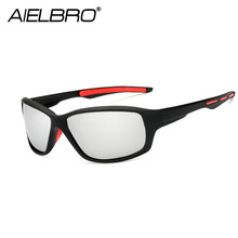 AIELBRO Professional Military Men Polarized Sunglasses Driving Glasses Man Classic Outdoor Sport Hiking Eyewear Gafas Ciclismo