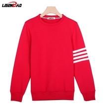 LiSENBAO New Autumn Spring men bape hoodies casual fashion Quality cotton male pullover tracksuit mens Slim Fit sweatshirt 781