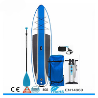 44b67b4bd Inflatable Water Ski SUP Adult Standing Surfboard Water Sport Leisure  Racing Surfboard