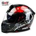 Hot sale GXT 358 anti-fog dual lens helmet full face motorcycle helmet cascos para moto electric car Safety moto helmets DOT