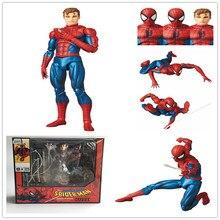 Dc ジャスティスリーグスーパーヒーロー MAFEX MAF ザ · アメージングスパイダーマン 075 Pvc アクションフィギュア玩具人形