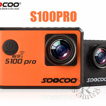 SOOCOO S100 Pro Voice ControlWifi 4K Action Camera 2.0 Touch Screen with Gyro and Remote 20MP s100pro