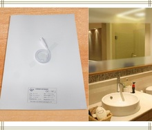 جديد مرايا لوحة التدفئة ، مرآة مانع الضباب سادة ، سخان حمام حصيرة LED مرآة التدفئة فيلم أنظمة امدادات للمنازل و الفنادق