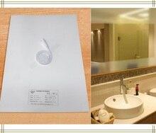 Almofada aquecimento de novos espelhos, almofada defletora do espelho, tapete aquecedor do banheiro led espelho aquecimento do filme da fonte para casa e hotéis
