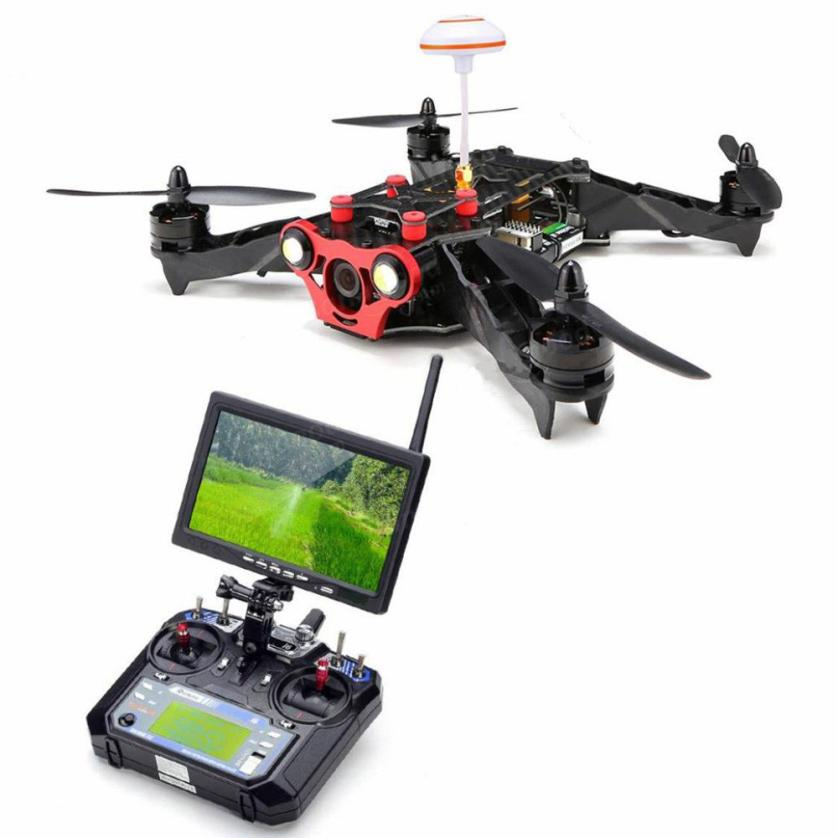 HIINST Remote control aircraft drone 250 FPV Quadcopter Built-In 5.8g Transmitter drone profissional OSD, FPV Monitor BNF Y1124