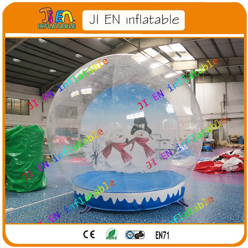Free Shipping Inflatable Snow Globe At Sale / Cheap