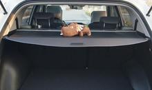 Автомобилей для укладки задний багажник багажа полке Грузовой Обложка для Hyundai Grand Santa Fe 2013 2014 2015