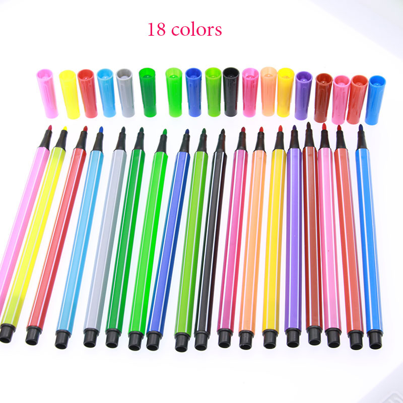 Watercolor Pens for Children - Sets of 12, 18, 24 and 36 colors 3
