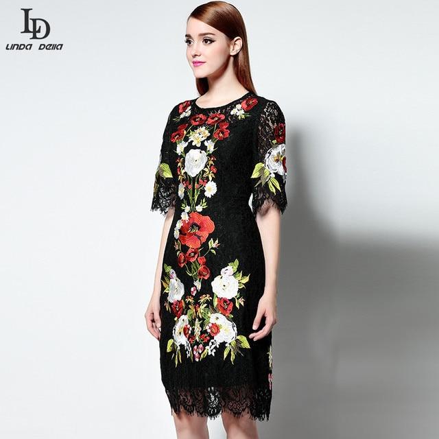 Clearance Best Wholesale Womens Knee Length Lace Dress Havren Limited Edition Online 2Um73164
