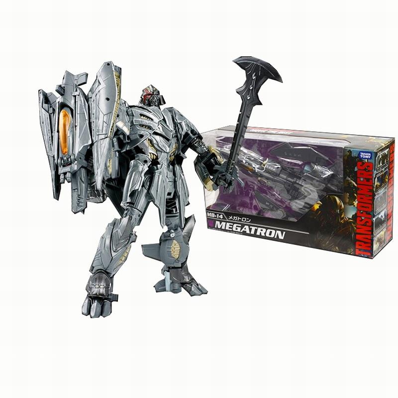 Transformers Genuine MB-14 Megatron Boy Toy Deformation Robot hasbro transformers genuine movie series mb 13 broken bone boy toy