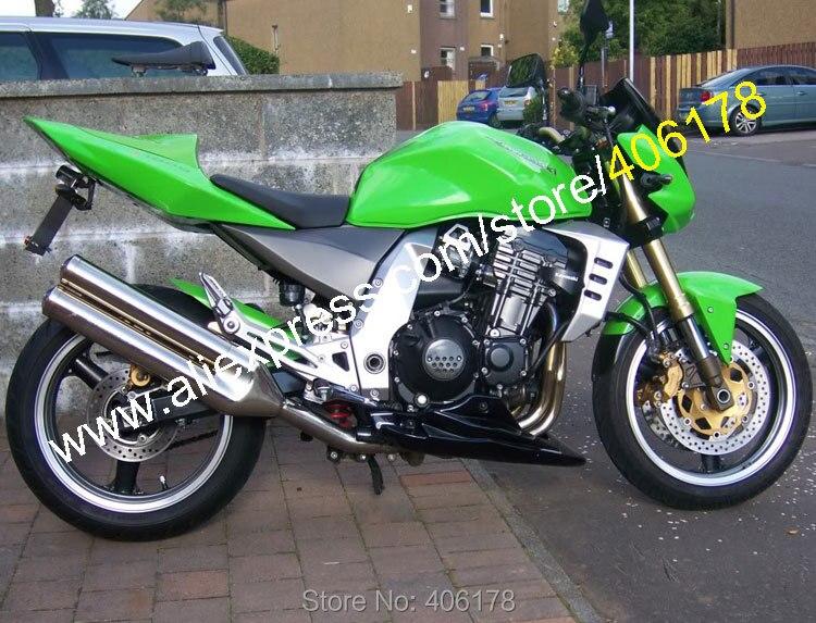 Горячие продаж,пользовательские краски зеленый обтекатель для Кавасаки z1000 2003 2004 2005 2006 З 1000 03 04 05 06 мотоцикл fairiings наборы