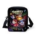 Forudesigns casuales bolsos de escuela los niños chicos gravedad cae bolsa de mensajero, nueva fireman sam bolso de escuela para niñas estudiantes de dibujos animados