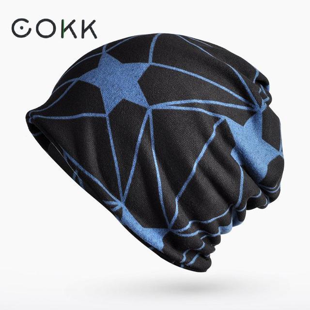 COKK Cappello Invernale Femminile Turbante Cappelli Per Le Donne Degli  Uomini Modello di Stella Antivento Caldo 582e5ccd73fa