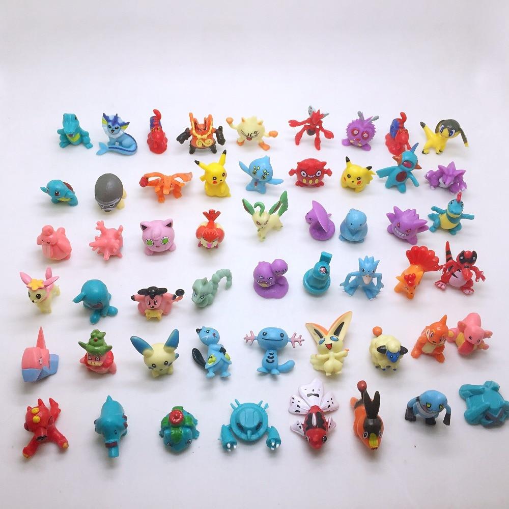 30pcs / lot Cute Mini Дія Цифри Monster Модель - Іграшкові фігурки