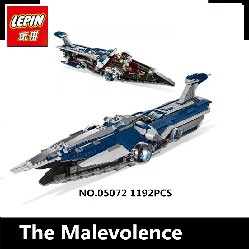 IN-STOCK Lepin 05072 1192Pcs   The Limited Edition Malevolence Warship Set Children Building Blocks Bricks Toys Model9515 dhl lepin 18032 2932 pcs the mountain cave my worlds model building kit blocks bricks children toys clone21137 in stock