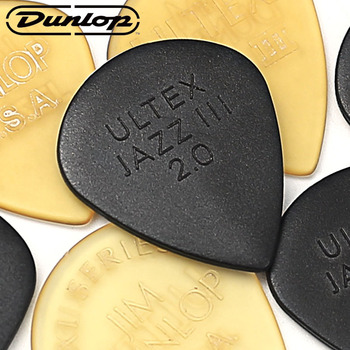 Dunlop Jazz III Guitar Picks Ultex Guitar Parts Accessory Bass Mediator Acoustic Electric Accessories Classic Guitar Picks