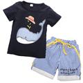 New Baby Kids Boys Summer Short Sleeve Tops T-shirt Shorts Outfits Age 1-7Y baby boy clothes children clothing Sets boys set