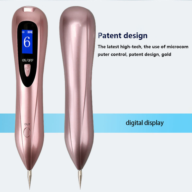 Newest Laser Plasma Pen Mole Removal Dark Spot Remover LCD Skin Care Point Pen Skin Wart Tag Tattoo Removal Tool Beauty Care 6