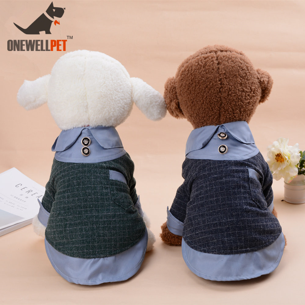 Dog Clothes Winter French Bulldog Thicken Down Jacket Cute Cat Chihuahua Clothing Puppy Vest Coat Pet Clothing T shirt Apparel